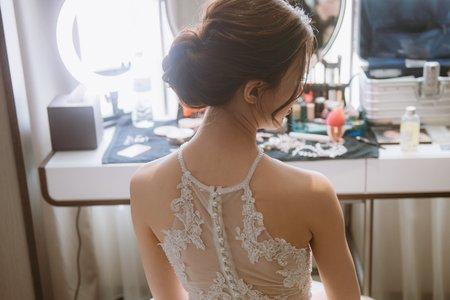ellen wang stylist 白紗造型設計