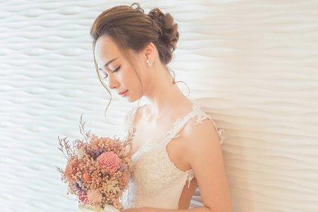 名媛風格 新娘造型