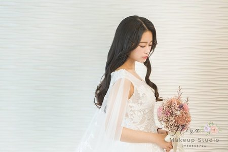 Nina 新娘秘書。整體造型