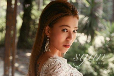 新娘秘書NINA彩妝整體造型_婚紗外拍
