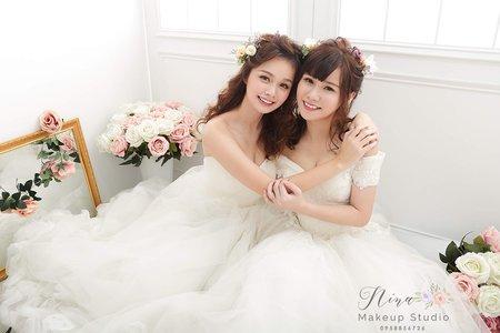 新娘秘書NINA彩妝整體造型_閨密寫真