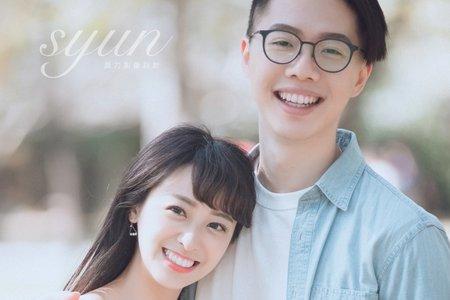 新娘秘書NINA彩妝整體造型_情侶寫真