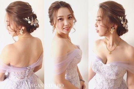 新娘曉晶訂婚