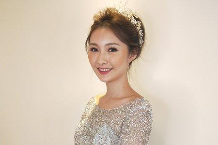 新娘秘書愷倫Karen/念念韓系盤髮造型