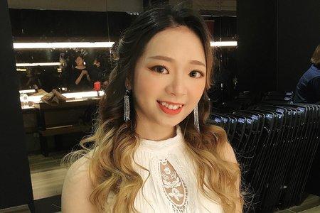 新娘秘書愷倫Karen-天青成果展妝髮