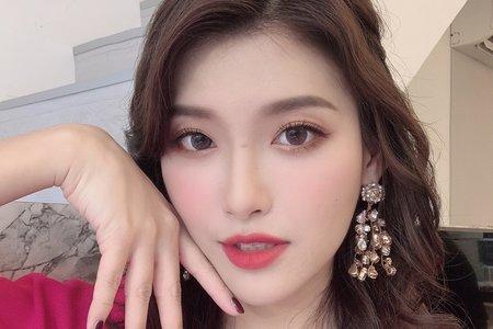 新娘秘書愷倫Karen-優里娜品牌合作妝髮