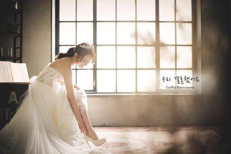 韓系婚紗_堂攝影