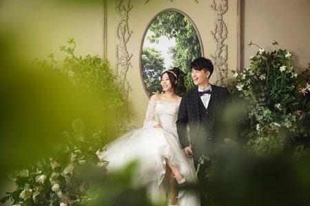 韓式婚紗_棚拍與外拍