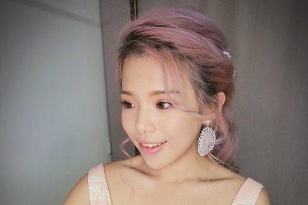 夢幻日系妝髮