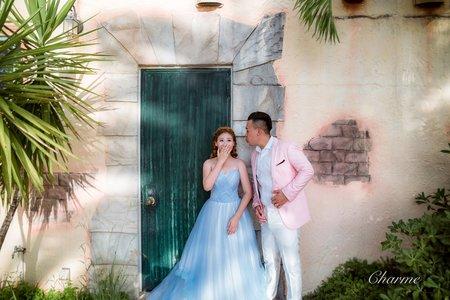 Charme-Ivan&Pei沖繩婚紗-婚紗攝影