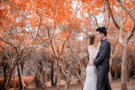 Charme-Sam&violin-婚紗攝影