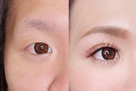 眼型眉型調整 精緻眼妝