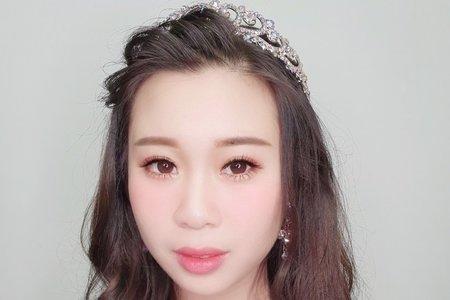 124.霏霏韓式清新 自然 裸妝
