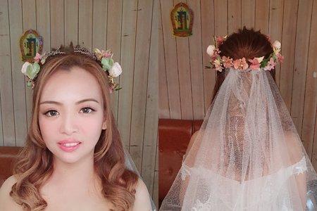 148.婚宴現場 Nana 甜美浪漫 公主造型
