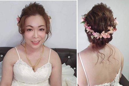 166.婚宴現場 慧玲 結婚 造型