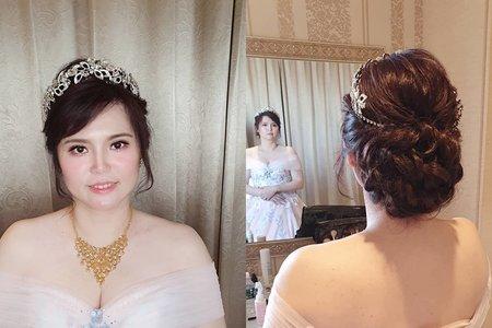 177. Sophia 婚宴現場 優雅低盤髮