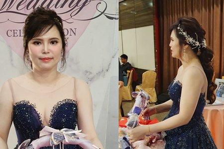 179. Sophia 婚宴現場 韓式 低馬尾造型