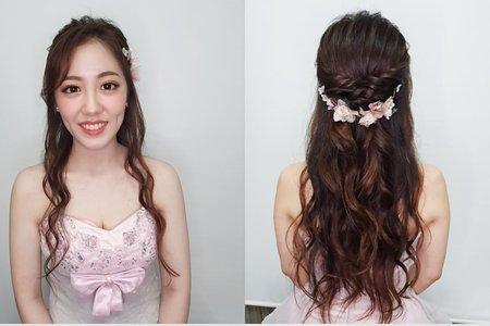 婚紗作品 炤炤甜美公主造型