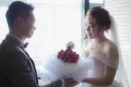草莓捧花系列
