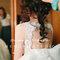 新娘準備移軸的概念