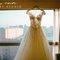 這是今天的嫁衣,今天新娘的戰袍