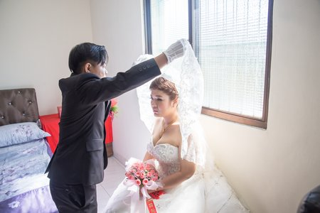 拍婚紗作品