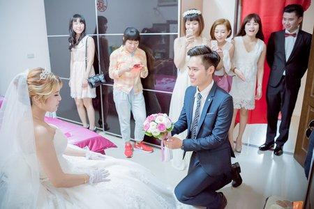 婚攝沙拉--婚禮紀實/迎娶