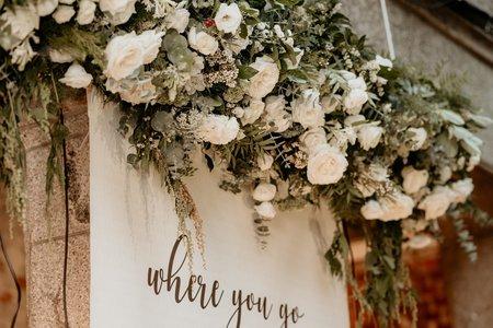 時尚曼谷   美式婚禮戶外布置