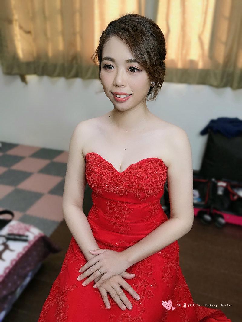 新娘單妝造型作品