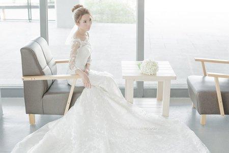 台北新娘秘書Apple-高盤髮