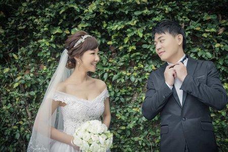 台北-新娘秘書Apple老師-簡約優雅髮帶造型