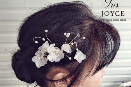 華麗優雅的盤髮造型分享