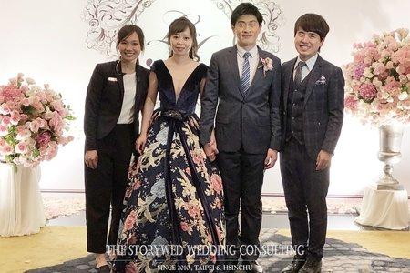 2018.12.29 晚宴 - 玠青&洪妍@新竹喜來登