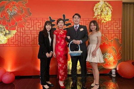 2019.12.28 午宴-少芃&瑞雲@新竹喜來登