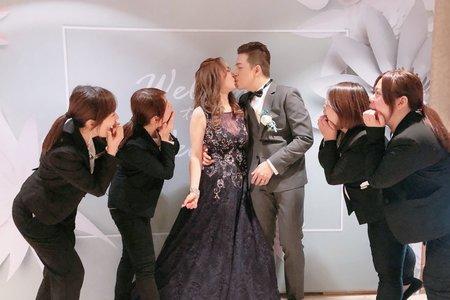 2020.01.12 晚宴 - 子昀&芷瑋@新莊翰品酒店