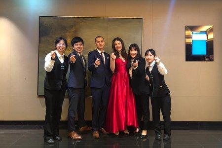 2020.01.16 午宴 - 齊文&Nicole@新竹喜來登