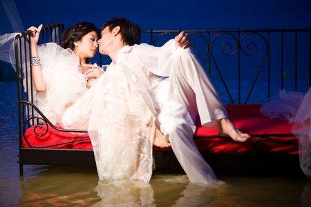 台中日月潭拍自助婚紗攝影