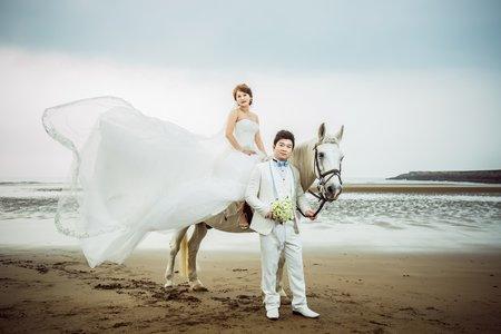 獨立攝影師拍攝自主婚紗攝影照