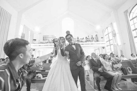起手結婚神前式的婚禮證婚