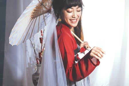 超仙系古裝婚紗Ι莫蘭迪調