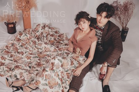 【韓式婚紗】Love韓系棚拍。婚紗Ι禮服Ι輕婚紗