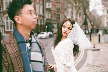 【英國倫敦電影底片婚紗】「零下3度的我愛你」輕婚紗Ι輕禮服