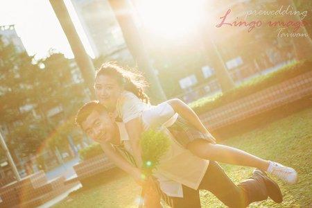 【校園制服婚紗】明星劇照師拍攝_十年之戀。一起回學校拍婚紗吧~