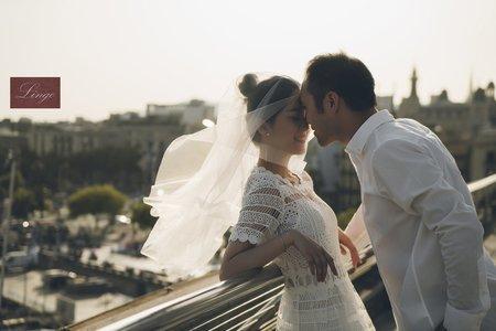 【西班牙巴塞隆那】輕婚紗_海外輕鬆拍婚紗