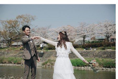 【日本京都】櫻花季。日劇風格_輕婚紗/日本籍造型團隊
