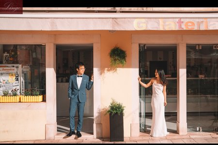 【西班牙巴塞隆那】海之城/電影風格_海外輕鬆拍婚紗