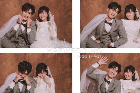 【韓式婚紗】Love韓系棚拍。婚紗Ι輕婚紗