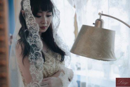 【復古文藝】空姐的輕婚紗寫真