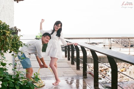 【台北底片婚紗】那天我們一起去看海