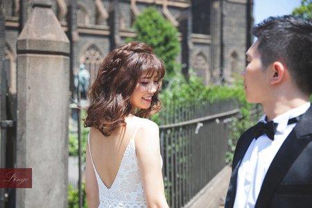 【澳洲墨爾本】蜜月旅行輕婚紗